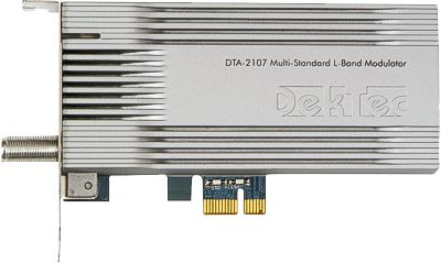 DTA-2107 - Multi-standard satellite modulator for PCIe