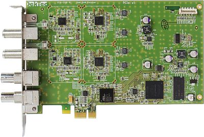 DTA-2136 - Dual QAM-A/B/C receiver for PCIe